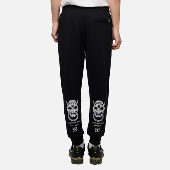Мужские брюки Evisu Hannya Rings & Seagull Black