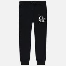 Мужские брюки Evisu Hannya Rings & Seagull Black фото- 0