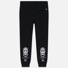 Мужские брюки Evisu Hannya Rings & Seagull Black фото- 4
