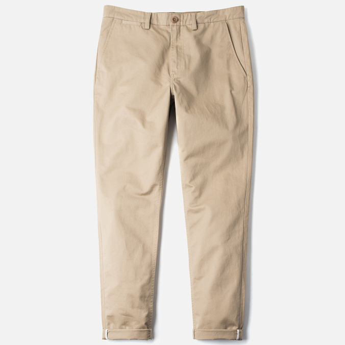 Fred Perry Classic Twil Chino Men`s Trousers Warm Stone