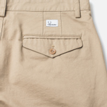 Fred Perry Classic Twil Chino Men`s Trousers Warm Stone photo- 1