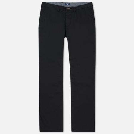 Мужские брюки Gant Basic Regular Twill Chino Black