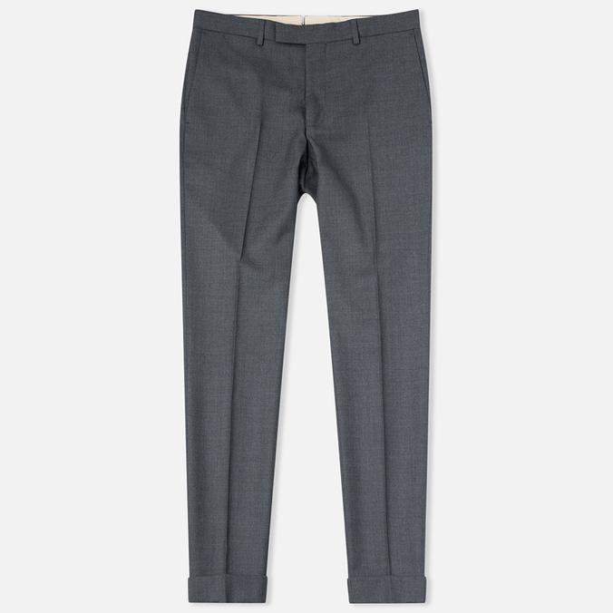 Мужские брюки Gant Rugger Hopsack Smarty Grey Melange