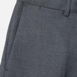 Мужские брюки Gant Rugger Hopsack Smarty Grey Melange фото- 2