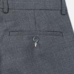 Мужские брюки Gant Rugger Hopsack Smarty Grey Melange фото- 3