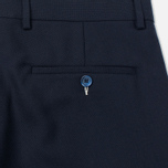 Мужские брюки Gant Rugger Hopsack Smarty Navy фото- 3