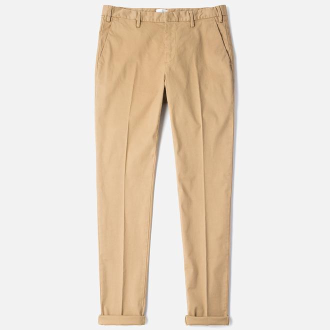 Мужские брюки Gant Rugger Slim Chino Khaki