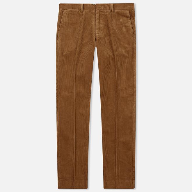 Мужские брюки Gant Slim Cord Roasted Walnut