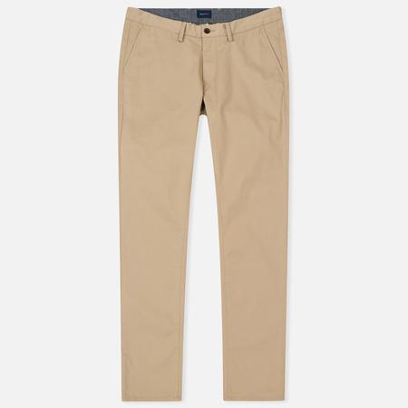 Мужские брюки Gant Slim Twill Chino Dark Khaki