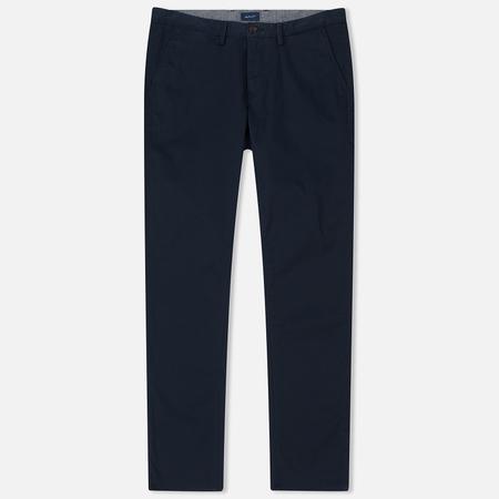 Мужские брюки Gant Slim Twill Chino Marine