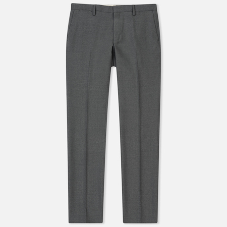 Мужские брюки Gant Tailored Slim Club Pant Dark Grey Melange