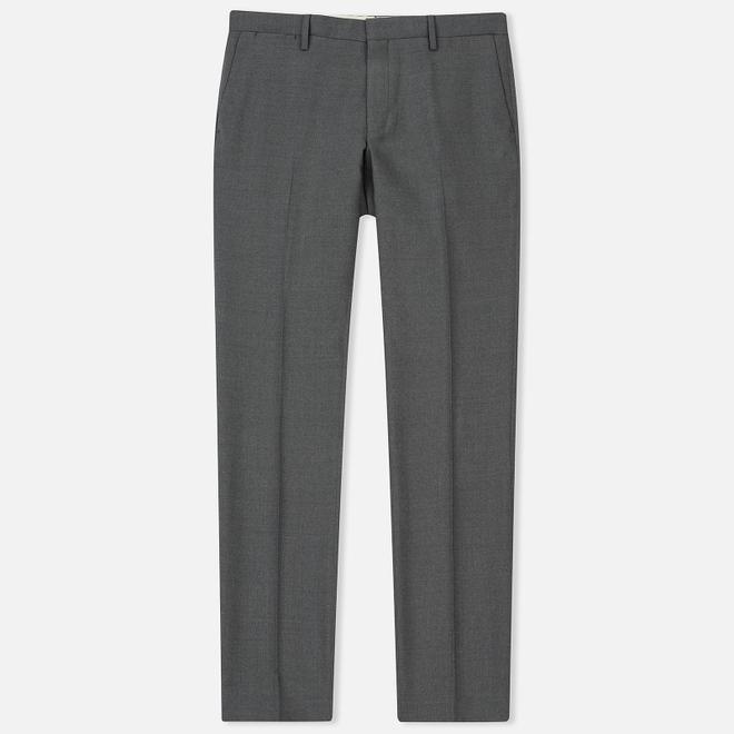 Мужские брюки Gant Tailored Slim Club Pant Dark Grey Melange