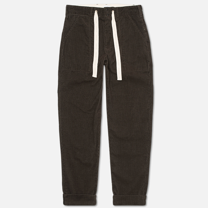 Garbstore Corduroy Men`s Trousers Service Grey