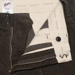 Мужские брюки Garbstore Corduroy Service Grey фото- 3