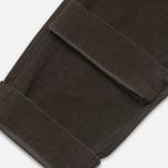 Мужские брюки Garbstore Corduroy Service Grey фото- 4