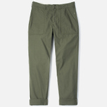 Garbstore Service East Men's Trousers Olive photo- 0