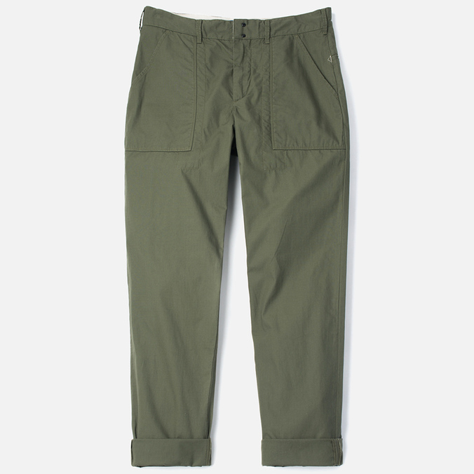 Garbstore Service East Men's Trousers Olive