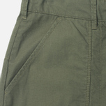 Garbstore Service East Men's Trousers Olive photo- 4