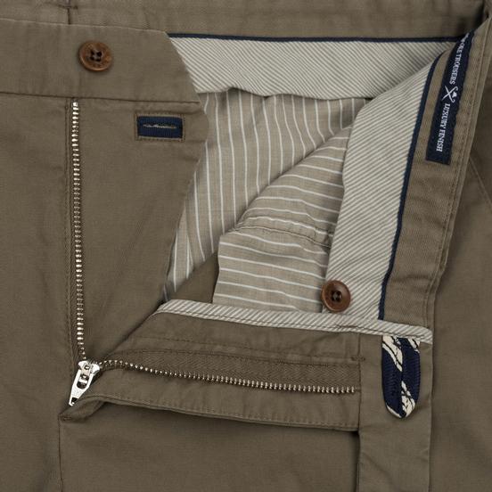 Мужские брюки Hackett Kensington Slim Military Olive