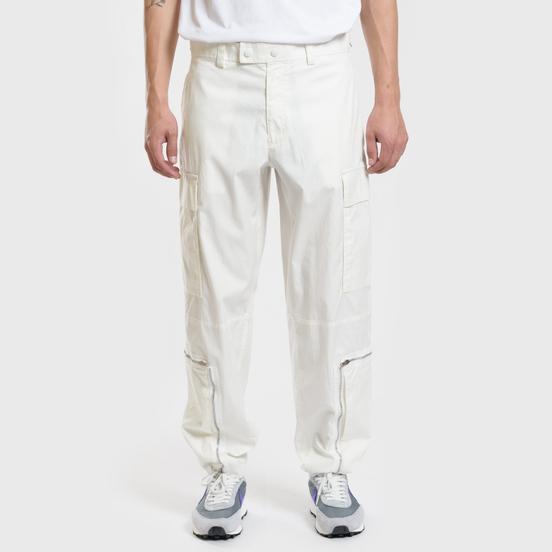 Мужские брюки Helmut Lang Aviator Washed Off White