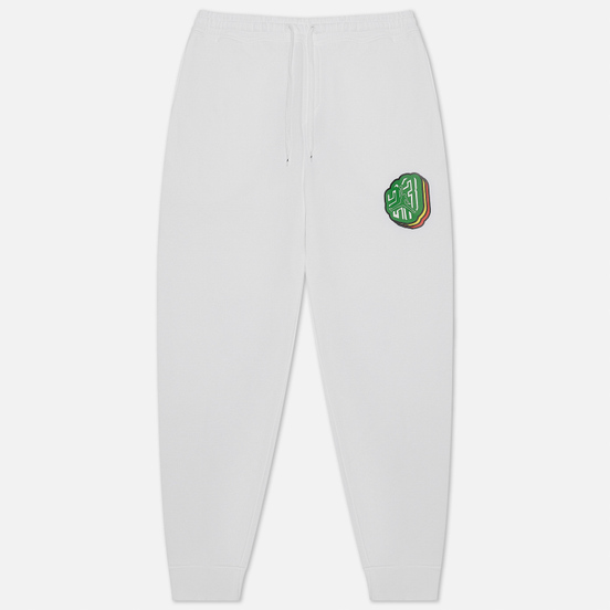 Мужские брюки Jordan Sticker Fleece White
