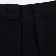 Мужские брюки JW Anderson Chino Front Pleats Black фото- 1