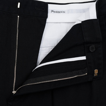 Мужские брюки JW Anderson Chino Front Pleats Black фото- 2