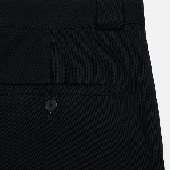 Мужские брюки JW Anderson Chino Front Pleats Black