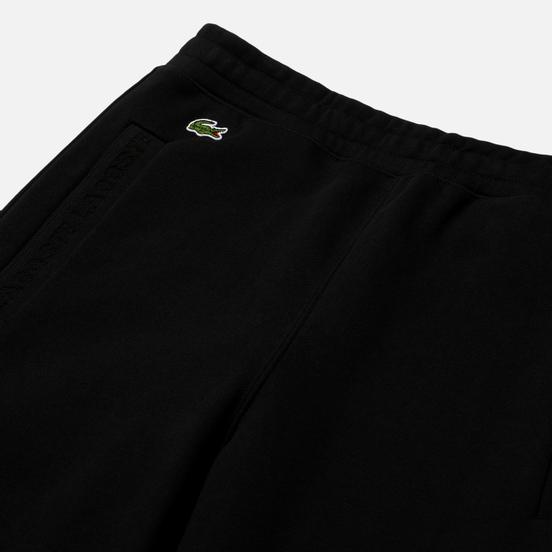 Мужские брюки Lacoste Embroidered Logo Black