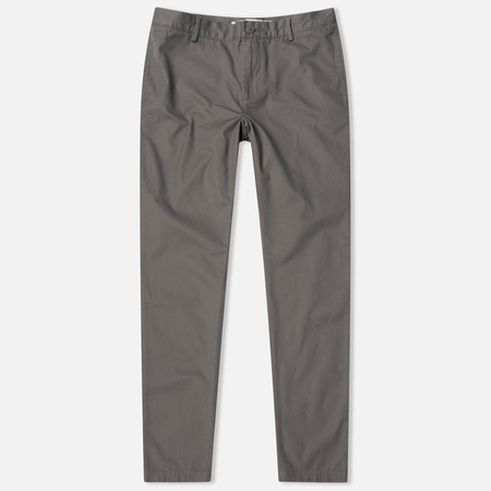 Lacoste Regular Fit Twill Chinos Men's Trousers Grey