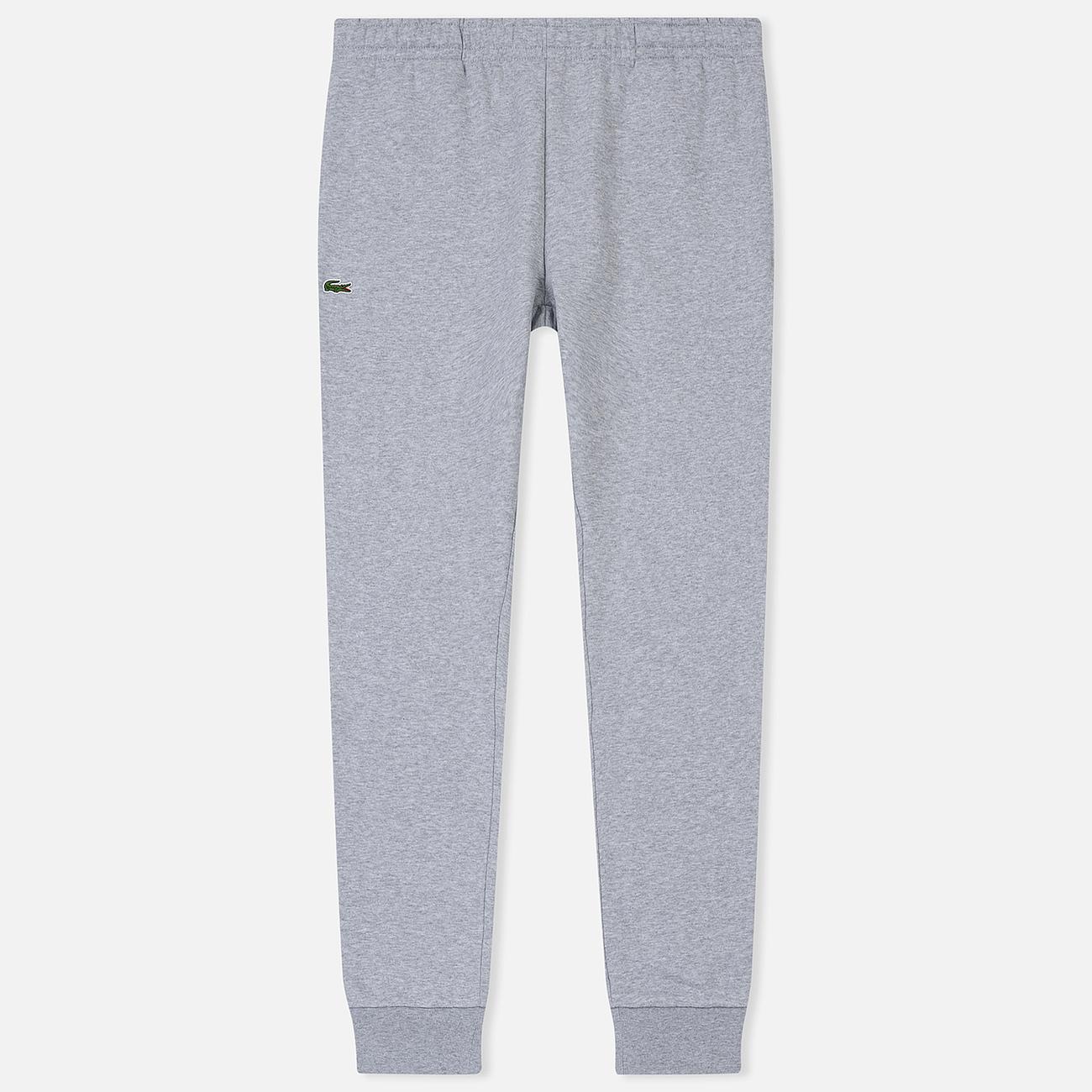 Мужские брюки Lacoste Sport Cotton Fleece Silver Chine
