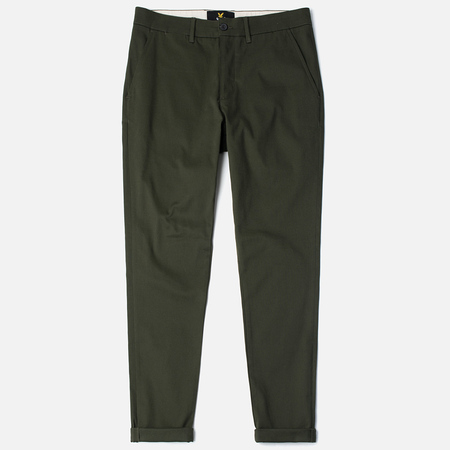 Lyle & Scott Chino Men's Trousers Dark Sage