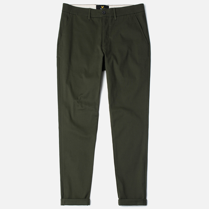 Мужские брюки Lyle & Scott Chino Dark Sage