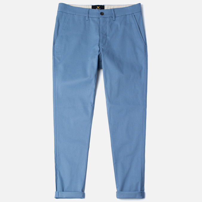 Lyle & Scott Chino Men's Trousers Dusk Blue