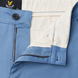 Lyle & Scott Chino Men's Trousers Dusk Blue photo- 1