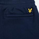 Мужские брюки Lyle & Scott Slim Sweat Navy фото- 3