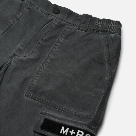 Мужские брюки M+RC Noir Cargo Cotton Black