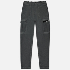 Мужские брюки M+RC Noir Cargo Cotton Black