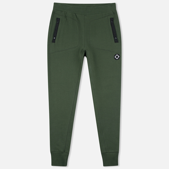 MA.Strum Rib Cuffed Hem Fleece Sweat Men's Trousers Kombu Green