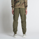 Мужские брюки maharishi Cargo Track Japanese Ripstop Nylon Maha Olive фото- 7