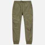 Мужские брюки maharishi Cargo Track Japanese Ripstop Nylon Maha Olive фото- 0