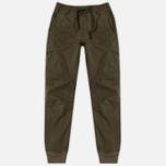 Мужские брюки maharishi Cargo Track Secure Zip Pocket Maha Olive фото- 0