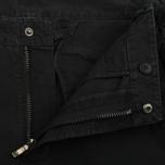 Мужские брюки maharishi Custom Secure Zip Pocket Black фото- 1