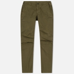 Мужские брюки maharishi Custom Secure Zip Pocket Maha Olive фото- 0