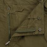 Мужские брюки maharishi Custom Secure Zip Pocket Maha Olive фото- 1
