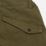 Мужские брюки maharishi Custom Secure Zip Pocket Maha Olive фото- 4
