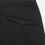 Мужские брюки maharishi Integrated Rib Black фото- 1