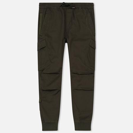 Мужские брюки maharishi MA65 Cargo Rib Track Stonewashed Olive