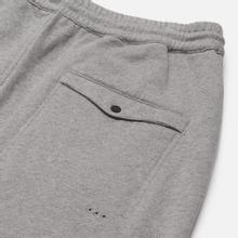 Мужские брюки maharishi Organic Military Type Embroidery Temple Bead Grey Marl фото- 5