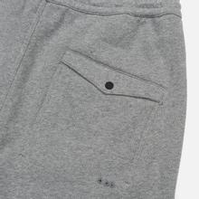 Мужские брюки maharishi Organic Military Type Embroidery Temple Bead Grey Marl фото- 3